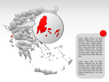 Greece PowerPoint Map Slide 35