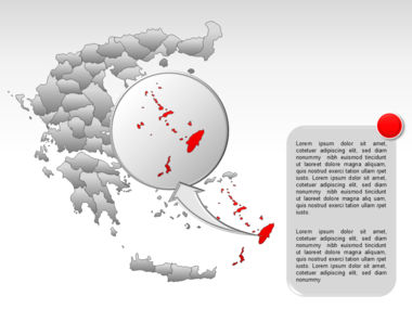 Greece PowerPoint Map Slide 60
