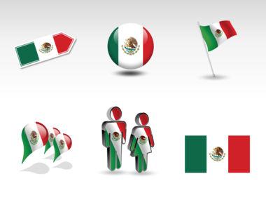 Mexico PowerPoint Map, Slide 8, 00030, Presentation Templates — PoweredTemplate.com