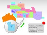 Oceania PowerPoint Map#23