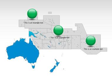 Oceania PowerPoint Map Slide 10