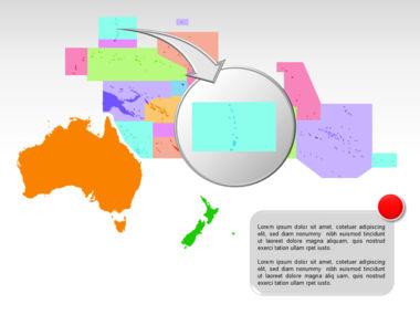 Oceania PowerPoint Map Slide 11