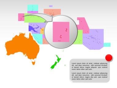 Oceania PowerPoint Map Slide 12