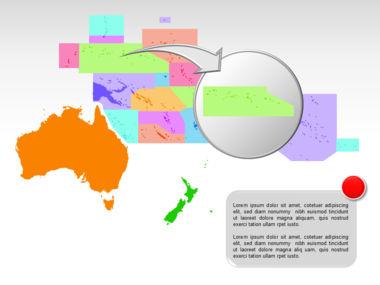 Oceania PowerPoint Map Slide 13