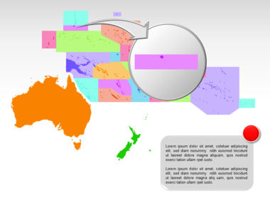 Oceania PowerPoint Map Slide 14