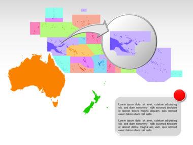Oceania PowerPoint Map Slide 15