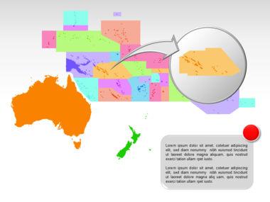 Oceania PowerPoint Map Slide 16