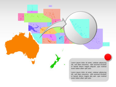 Oceania PowerPoint Map Slide 17