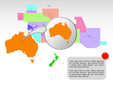 Oceania PowerPoint Map Slide 18