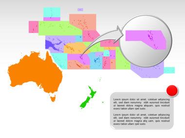 Oceania PowerPoint Map Slide 19