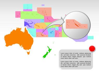 Oceania PowerPoint Map Slide 20