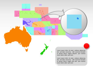 Oceania PowerPoint Map Slide 21