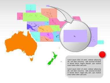 Oceania PowerPoint Map Slide 22