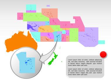 Oceania PowerPoint Map Slide 23