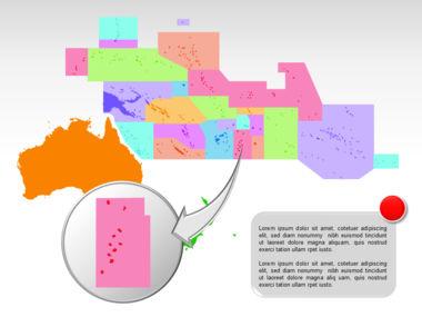 Oceania PowerPoint Map Slide 24