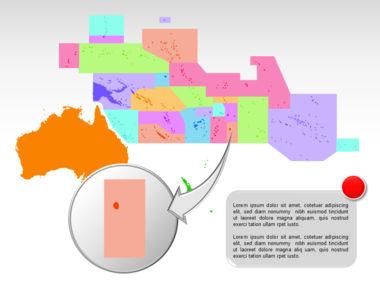Oceania PowerPoint Map Slide 25