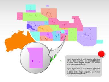 Oceania PowerPoint Map Slide 26