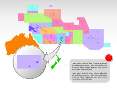 Oceania PowerPoint Map Slide 28