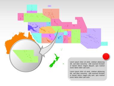 Oceania PowerPoint Map Slide 29