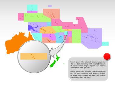 Oceania PowerPoint Map Slide 30