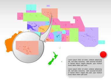 Oceania PowerPoint Map Slide 31