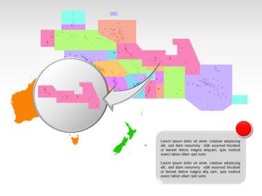 Oceania PowerPoint Map Slide 32