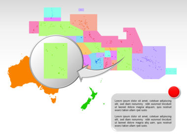 Oceania PowerPoint Map Slide 33