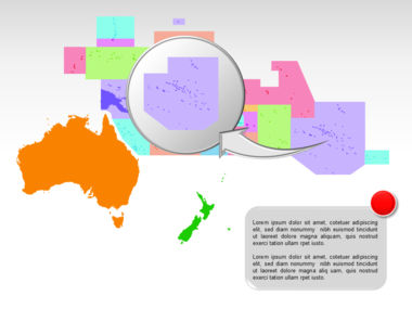 Oceania PowerPoint Map Slide 34