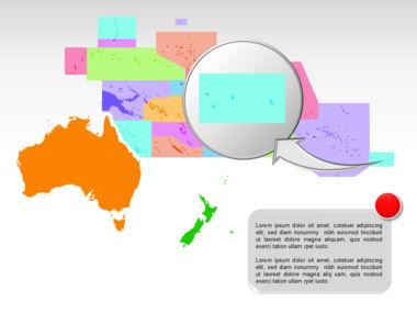 Oceania PowerPoint Map Slide 35