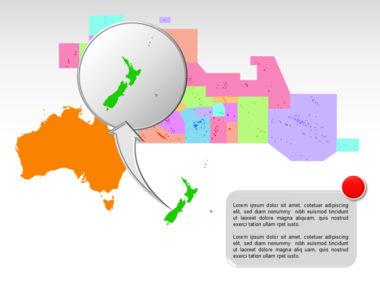 Oceania PowerPoint Map Slide 36