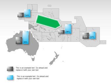 Oceania PowerPoint Map Slide 38