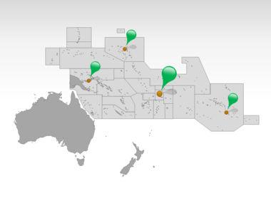 Oceania PowerPoint Map Slide 5