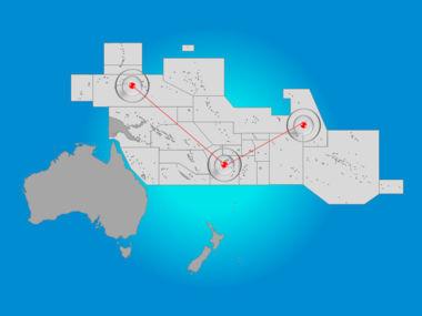 Oceania PowerPoint Map Slide 6