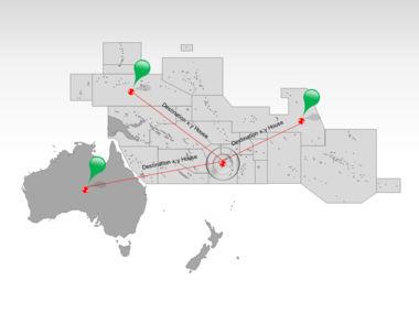 Oceania PowerPoint Map Slide 7