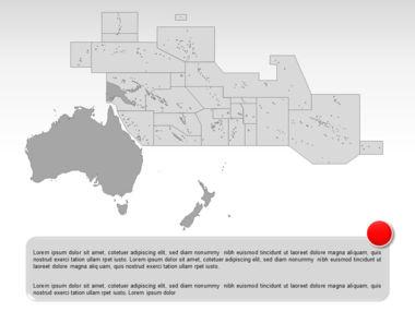 Oceania PowerPoint Map Slide 8