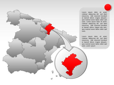 Spain PowerPoint Map Slide 17
