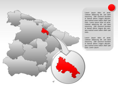 Spain PowerPoint Map Slide 18