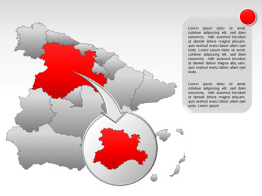 Spain PowerPoint Map Slide 19