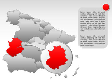 Spain PowerPoint Map Slide 20