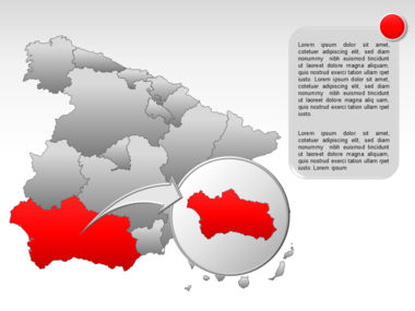 Spain PowerPoint Map Slide 22