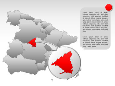 Spain PowerPoint Map Slide 23