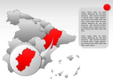 Spain PowerPoint Map Slide 24