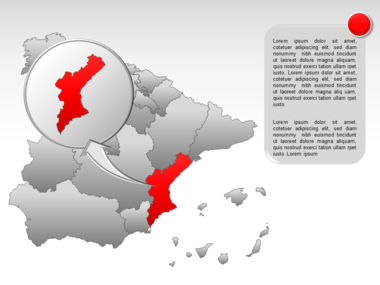 Spain PowerPoint Map Slide 26
