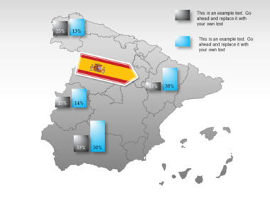 Spain PowerPoint Map Slide 32