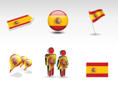 Spain PowerPoint Map Slide 8