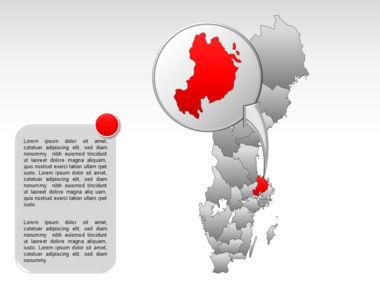 Sweden PowerPoint Map Slide 20