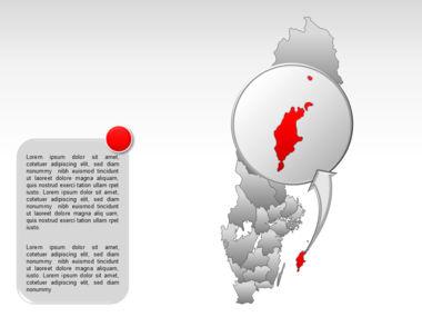 Sweden PowerPoint Map Slide 28