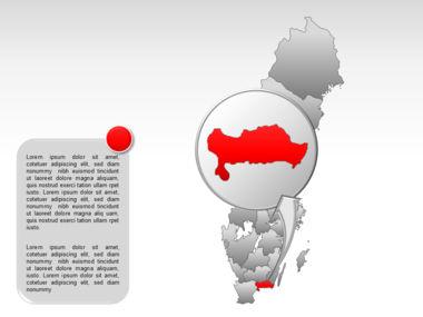 Sweden PowerPoint Map Slide 32