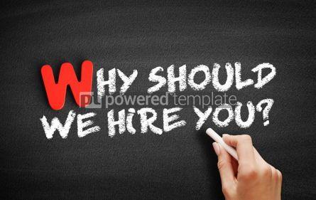 Business: Foto - por que devemos contratar um texto no quadro-negro? #00030