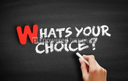 Business: What's your choice text on blackboard #00037